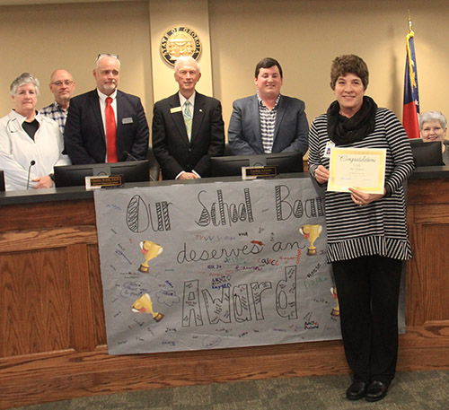 Pickens County Board of Education March 2020