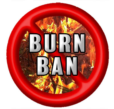 NOTICE: Outdoor Burn Ban Now In Effect in Pickens County