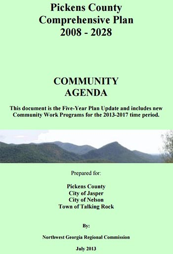 Pickens County Joint Comprehensive Plan Public Meeting & Survey