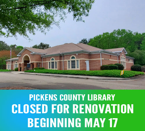 Pickens Library Opening Temporary Service Location During Upcoming Renovation