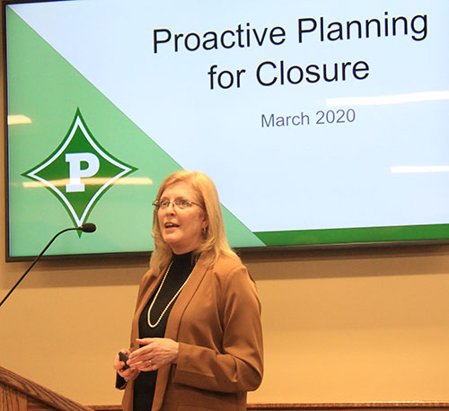 Proactive Planning for Closure Presentation by Jill Liberatore, Ed.S. Chief Accountability Officer for Pickens County Schools