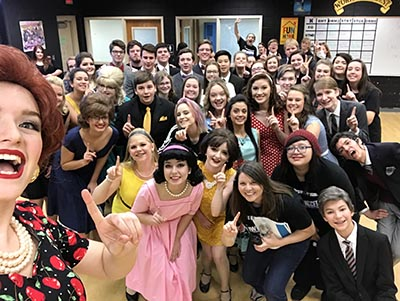 Pickens High School Drama Wins Region, Competes at State Level