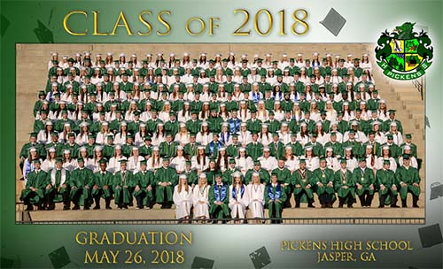 Pickens High School Class of 2018
