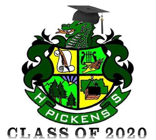 Pickens High School 2020 Graduation Plans