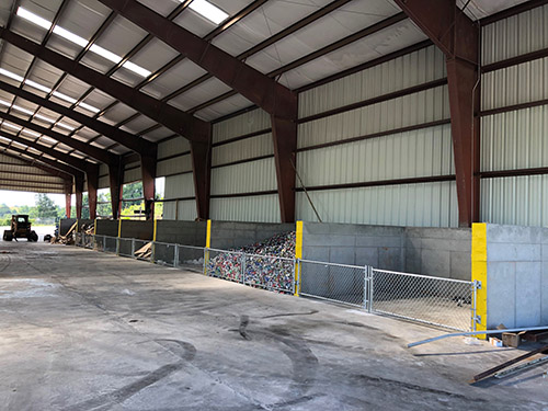 New Recycling Center located off Appalachian Court opening soon.