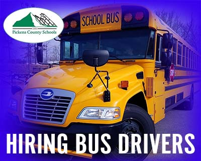 Pickens County Schools Hiring Substitute Bus Drivers
