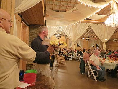 Auxiliary Hosts Christmas Party for Sheriff's Office