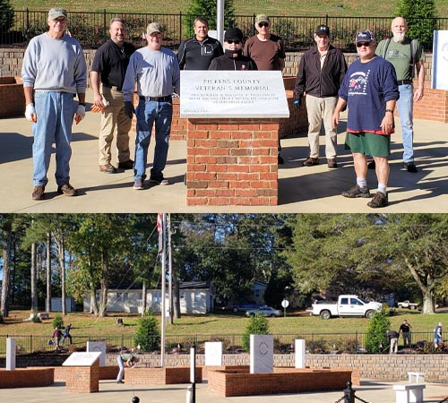 Home Depot Foundation Grant Benefits Pickens County Veterans Memorial Park