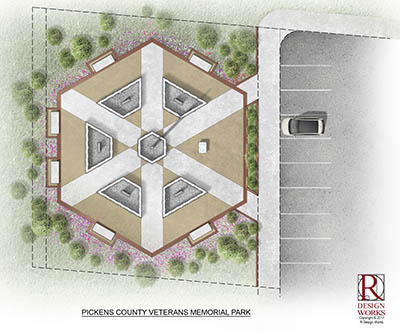 Pickens County Veterans Memorial Park To Be Completed By Veterans Day