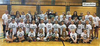 Successful Pickens Volleyball Junior Camp
