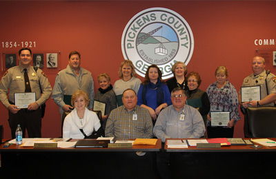 Pickens County Board of Commissioners Meeting (Video)