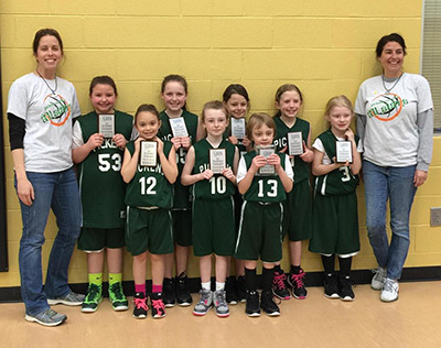 Pickens County U8 All Star Girls Basketball Headed to State