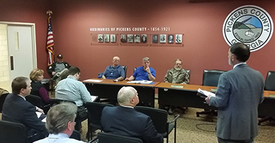 Pickens County Water and Sewer Authority Called Meeting (Video)