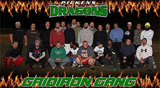 Gridiron Gang is Practicing Three Times a Week for Upcoming Gilmer vs Pickens Alumni Football Game