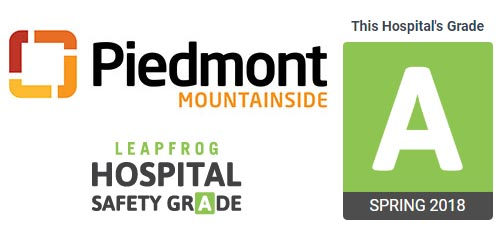 Piedmont Mountainside Earns Top Grade for Patient Safety