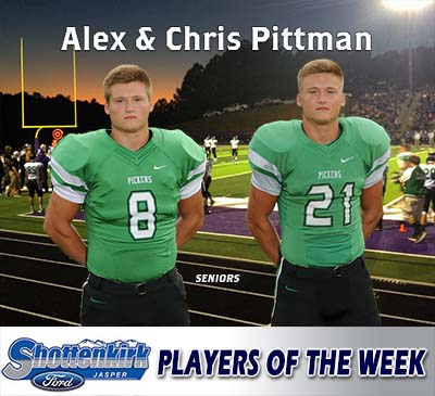 Twin Brothers Named Shottenkirk Ford Players of the Week