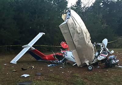 Plane Crash in Jasper Kills Solo Pilot