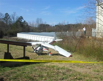 Plane Crash in Pickens County