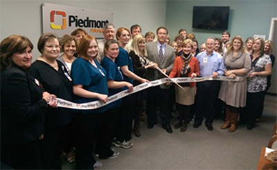 Piedmont Physicians Mountainside Internal Medicine Ribbon Cutting