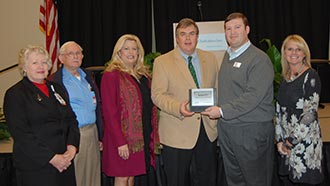 Piedmont Mountainside Hospital was awarded the Large Business of the Month by Chamber