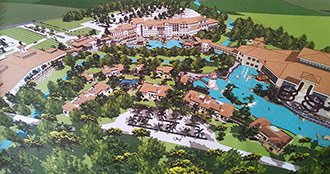 Hotel Resort with Indoor/Outdoor Water Park Eyes Pickens County