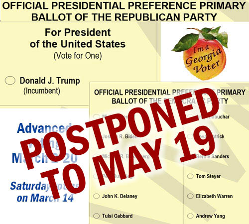 Presidential Preference Primary Postponed Due To Public Health Emergency