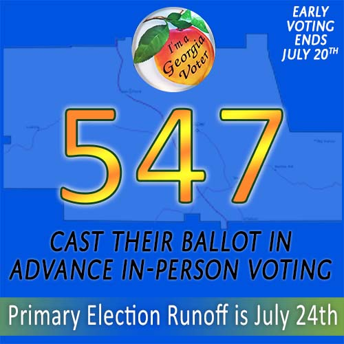 Last Week for Advance In-Person Voting