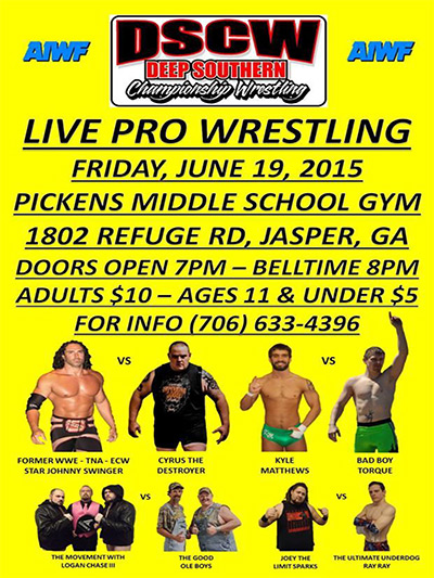 Deep Southern Championship Pro Wrestling Fundraiser