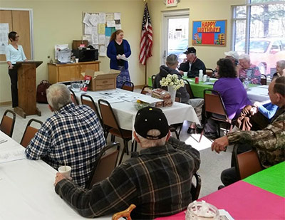 Protective Structures Educates Pickens Senior Center on Tornado Preparedness