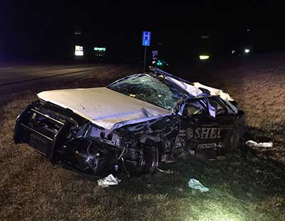PSO Sgt. Rick Hales Involved in Accident on Hwy 515