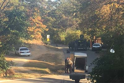 Standoff in Pickens County Ended