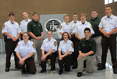 Pickens Sheriff Explorers Attend State Conference