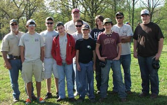 Pickens County 4-H S.A.F.E. (Shooting Awareness Fun & Education) Team