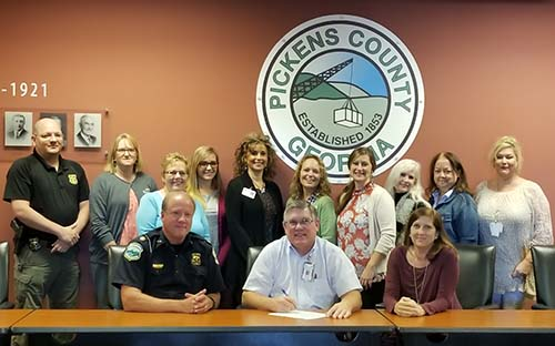 Pickens County Red Ribbon Week Proclaimed