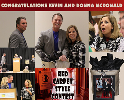 WINTER BALL RED CARPET STYLE WINNTER - DONNA AND KEVIN MCDONALD