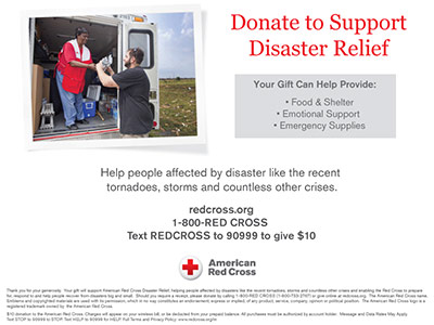 Donate to Support Disaster Relief