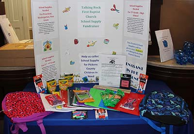 Renasant Bank Collecting School Supplies For Pickens County Children