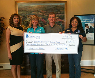 Renasant Bank donates to Habitat For Humanity Pickens County