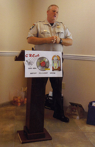 Sheriff Craig Speaks to Retired Educators