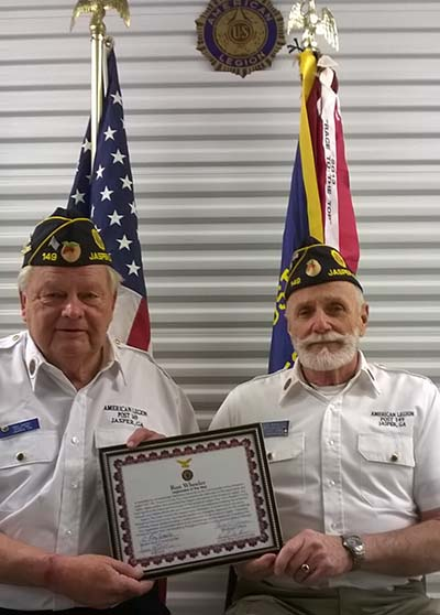 Ron Wheeler Named Legionnaire of the Year