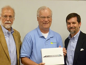 Chattahoochee Technical College Honors Math Instructor with iPad2
