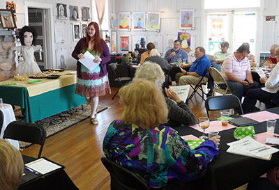 Marketing Art on Social Media was Topic at Sharptop Arts Association April Brunch