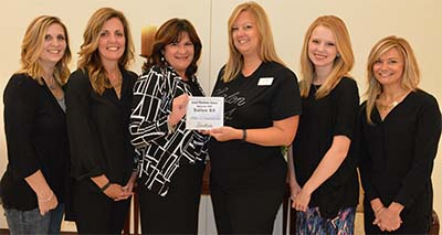 Salon 84 Awarded Small Business of the Month
