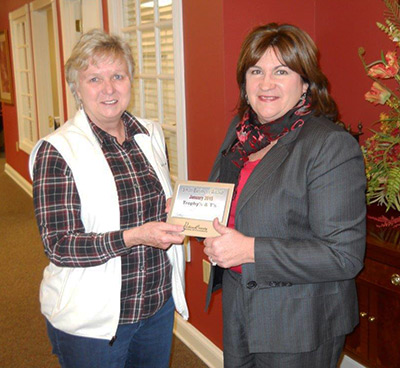 Trophy's & T's Announced as Chamber's January Small Business of the Month