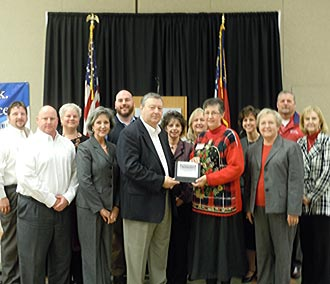 Community Bank of Pickens County named Large Business of the Month