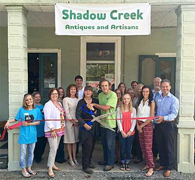 Shadow Creek Antiques & Artisans Ribbon Cutting