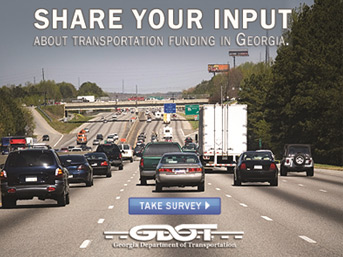 GA DOT Seeking Public Input on State�s Transportation Needs & Funding