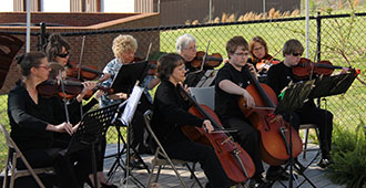 Sharptop Strings Community Orchestra Opening for Young Actors Project Fall Performance