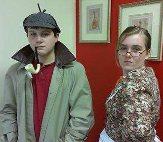YAP's 'Sherlock Meets the Phantom' is Full of Humor