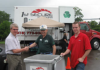 Three Thousand Pounds Shredded at Keep Pickens Beautiful Event